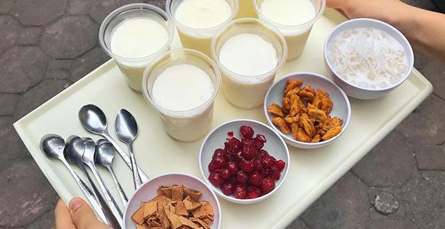 Bắt trend sữa chua trân châu cốt dừa thần thánh
